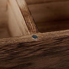 Teebox Holz Teebeutelbox Teespender Teeregal Teekiste Teedose Teebeutelspender