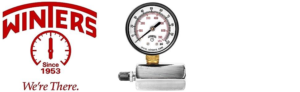 gas test pressure gauge