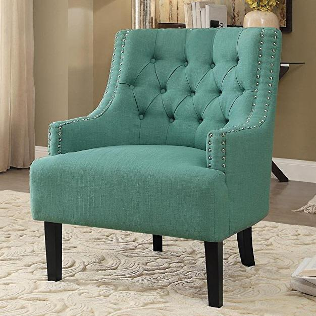 Colorful Kitchens With Charisma: Amazon.com: Homelegance Charisma Accent/Arm Chair, Teal