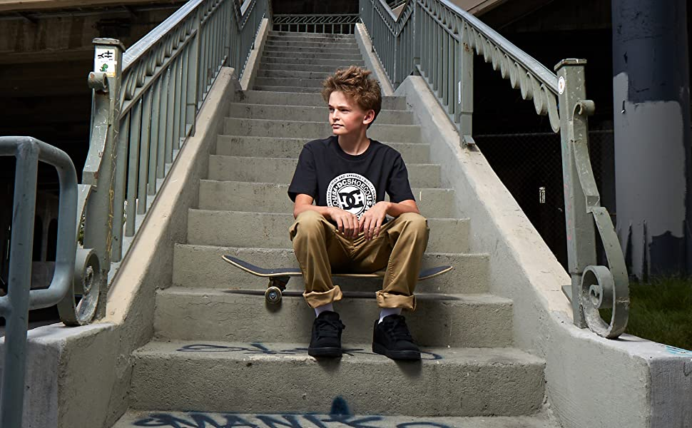 DC Shoes, boys, kids, skateboarding, Pure