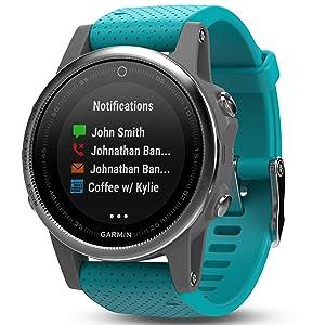 garmin f nix 5s gps multisport smartwatch. Black Bedroom Furniture Sets. Home Design Ideas