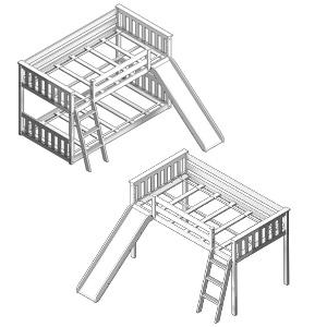 max lily fun beds kids beds bunk beds loft beds girls beds boys beds teen beds