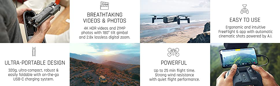 ANAFI drone key features