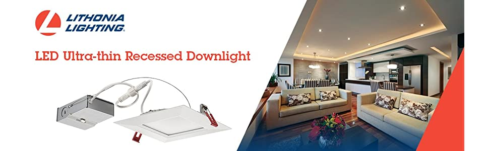 ultra thin recessed lighting low profile led from the manufacturer lithonia lighting wf4 led 30k mw m6 96w ultra thin 4