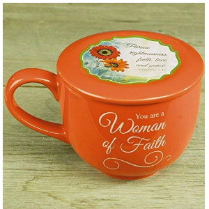 Woman of Faith Soup Mug