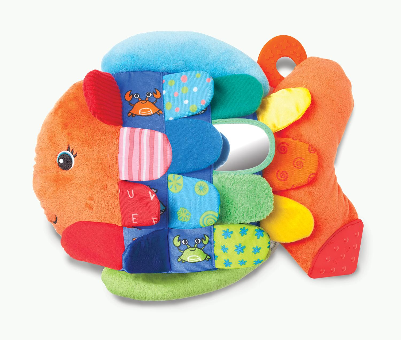 Soft Baby Toys : Melissa doug flip fish soft baby toy