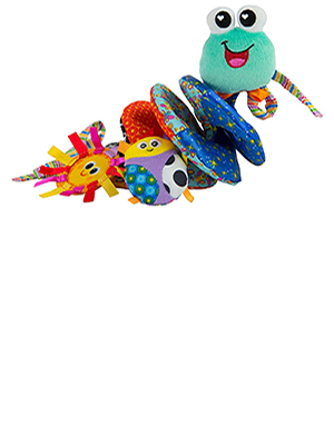 Lamaze Fold and Go Activity Friends Baby Toy