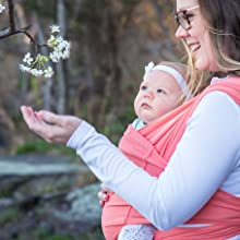 baby wrap, baby sling, baby carrier, mesh carrier, active, sport mesh, solly, moby, sizing chart