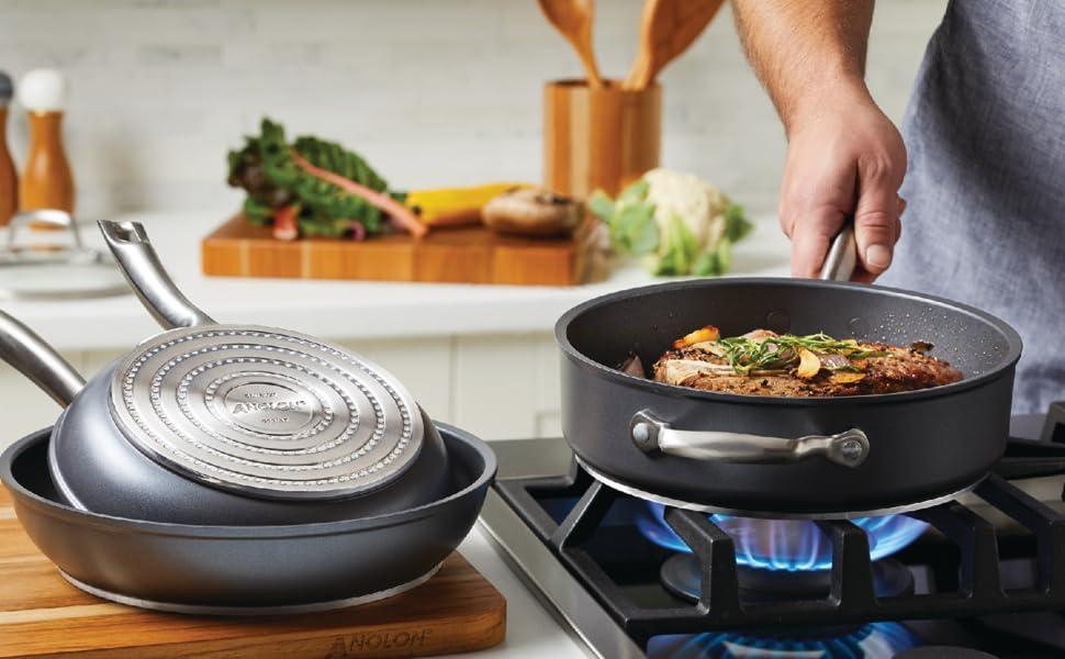 pots and pans, nonstick pan, skillet, cookware, nonstick cookware