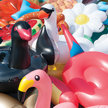 Swimline, Solstice, intex, funboy, swan float, pool float, sunny life, inflatable, party bird island