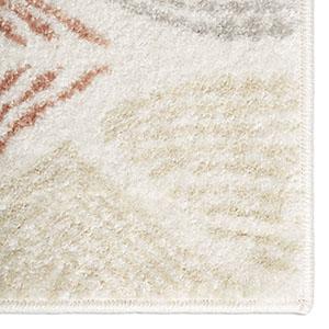 nuloom rugs, unique loom rugs, thumbprint rug, mid century modern decor, modern rugs, 6x9 rugs, 8x10