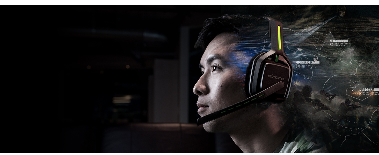 Astro A20 Wireless Gaming Headset for PS4