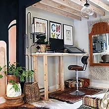 craft area, interior design, office design, studio design