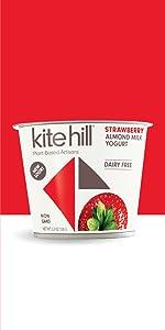 kite hill, kitehill, yogurt, strawberry