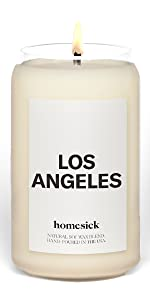 Los Angeles, Homesick, Candle, States, Cities, personalized gift, housewarming gift, home, decor