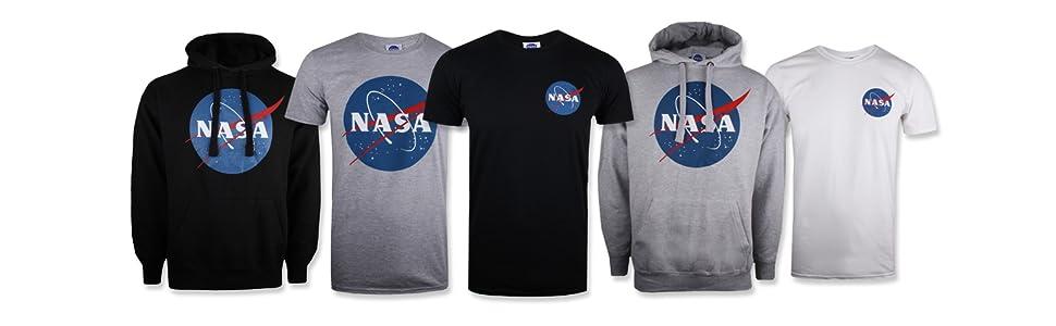 T-Shirt Uomo Nasa Core Logo