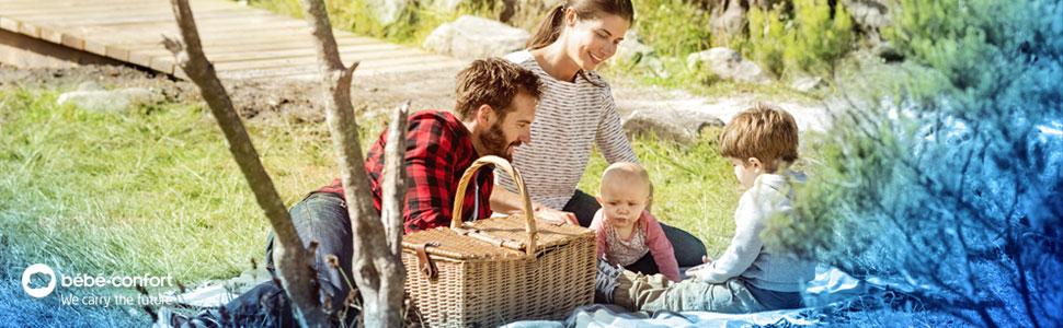 Bébé Confort;portabebés para coche;silla infantil para coche;milofix;módulo 1