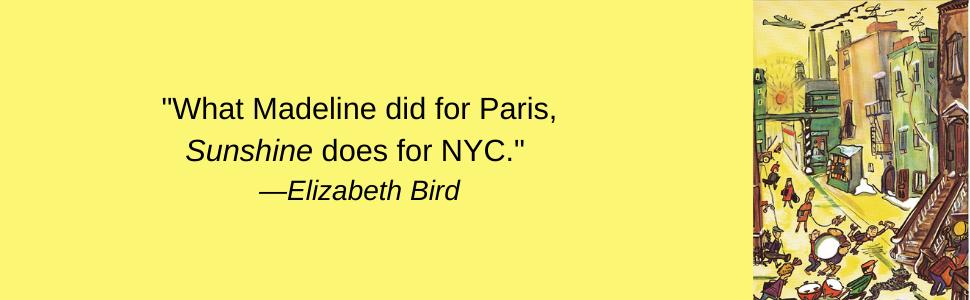 sunshine; new york; childrens book