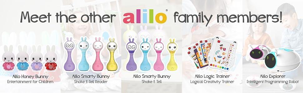 honey bunny, smarty bunny, logic trainer, explorer, alilo
