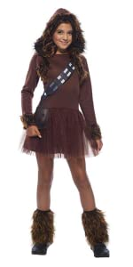 Girls Chewbacca Costume Dress