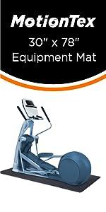 """30"""" x 78"""" fitness equipment mat"""