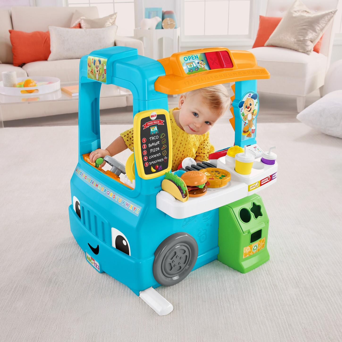 Fisher price laugh learn servin 39 up fun food - Cuisine bilingue fisher price ...