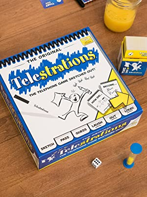 Amazon.com: USAopoly Telestrations Original 6 Player Board