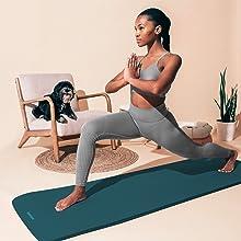 retrospec, solana, yoga, mat, incline, fitness