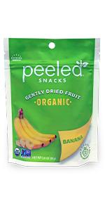 organic dried fruit banana