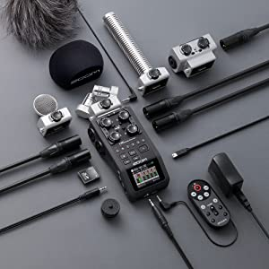 Zoom H6 Handy Recorder Accessories Capsules