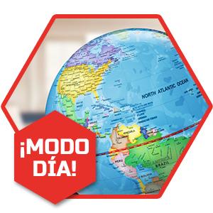 Discovery 2 en 1 Educativos, Luz, Juguetes, Bola del Mundo Niños ...