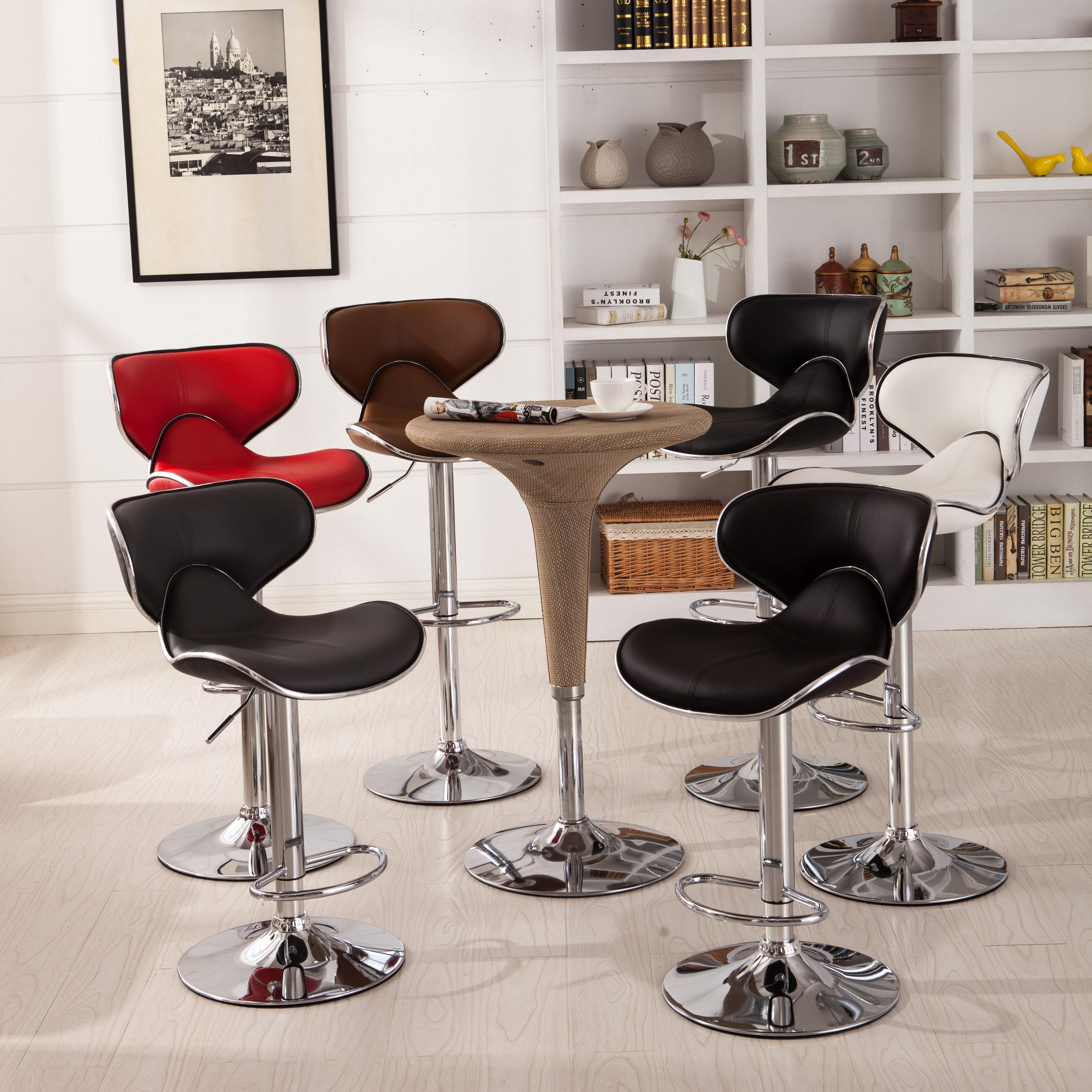 Roundhill Furniture Masaccio Cushioned Leatherette
