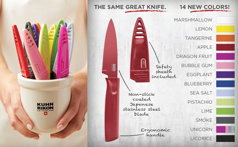 color knife