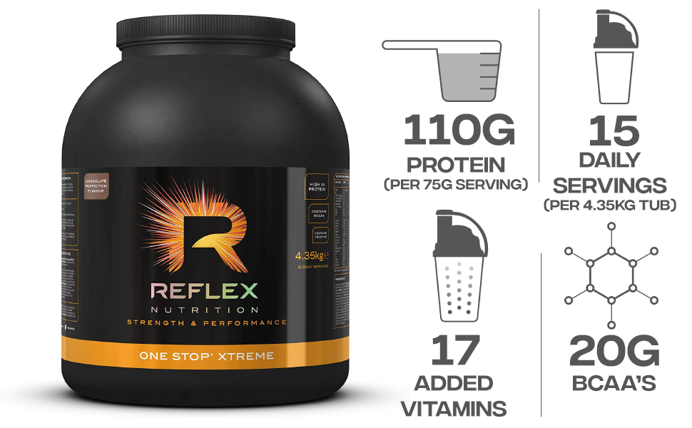 Reflex Nutrition One Stop Xtreme Chocolate Perfection - 4350 ...
