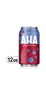 AHA Blueberry + Pomegranate