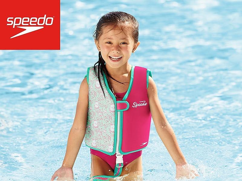 375240ac104c8 Amazon.com : Speedo Kids' UPF 50+ Begin to Swim Printed Neoprene ...