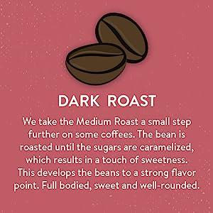 Dark Roast Coffee, san francisco bay coffee, whole bean