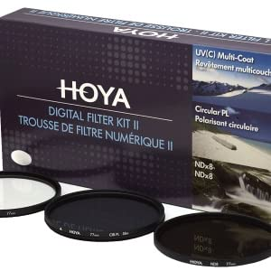 Hoya DigitalL Filter Kit, 62 mm, Negro: Amazon.es: Electrónica