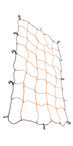 """Heininger 4252 HitchMate 48"""" X 20"""" Cargo Stretch Web and Bag with 12 Hook"""