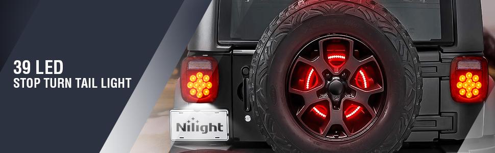 39 LED trailer tail light
