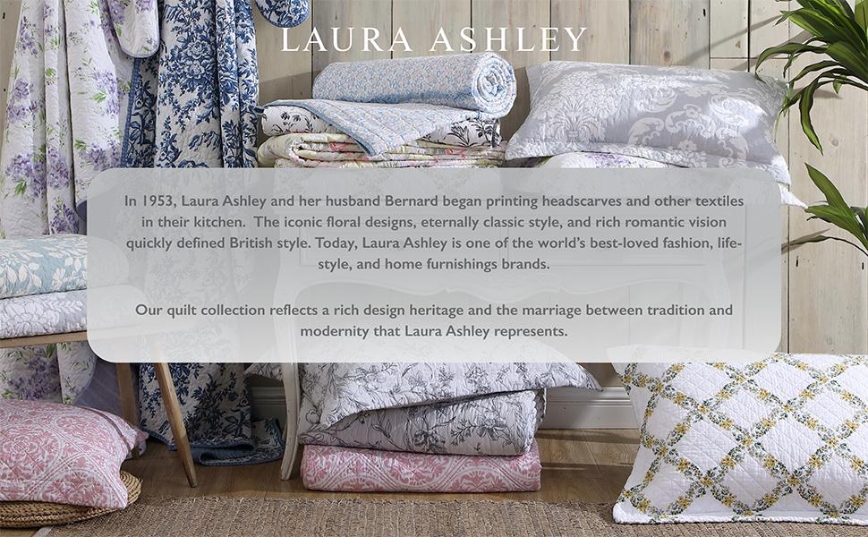 laura Ashley,Quilt Sets,Blanket,Bedding Set, Cotton Bedding,Breathable Bedding Set,lightweight quilt