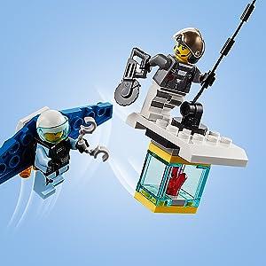 City, police, LEGO