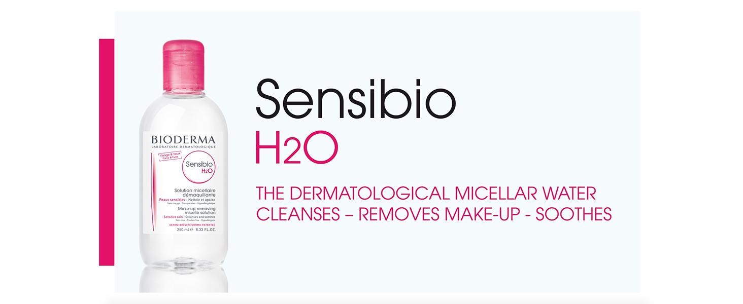 Amazon.com: Bioderma Sensibio H2O Micellar - Solución de ...