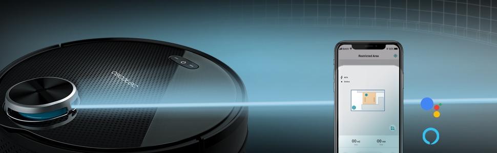 Cecotec Conga Serie 3090 Robot Aspirador 4 En 1, Navegación ...