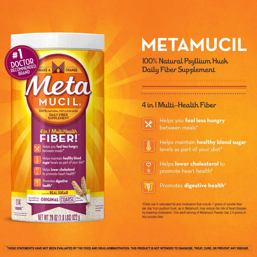 Metamucil And Weight Loss: Does It Work? Review Of Research