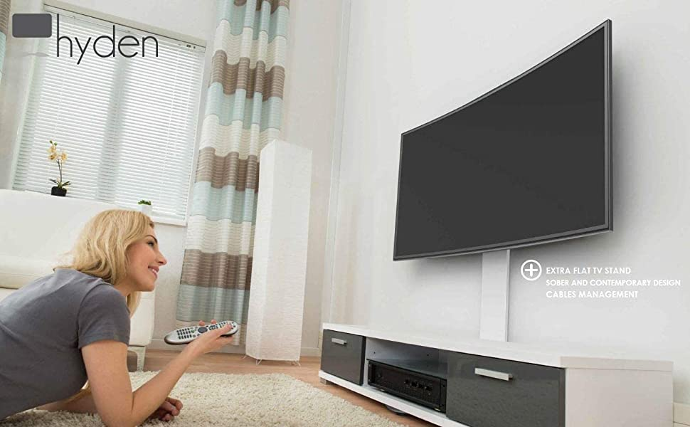 Exelium Hyden Soporte de TV de 81-165 cm (24-65
