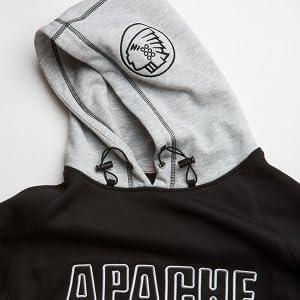 Apache en polaire à capuche résistant Sweat Taille M-XXL