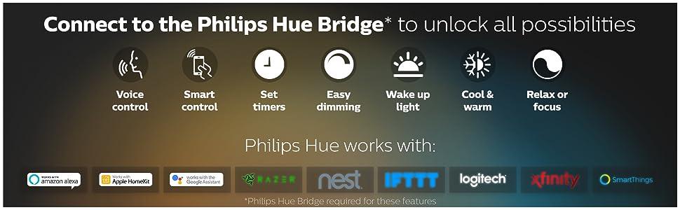 Philips Hue White ambiance B22 Bulb