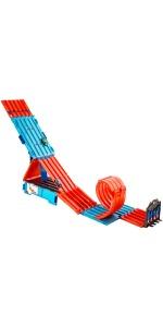 Hot Wheels - Track Builder, Caja Multiloopings, accesorios para pistas, 6 - 10 años - (Mattel FLK90): Amazon.es: Juguetes y juegos