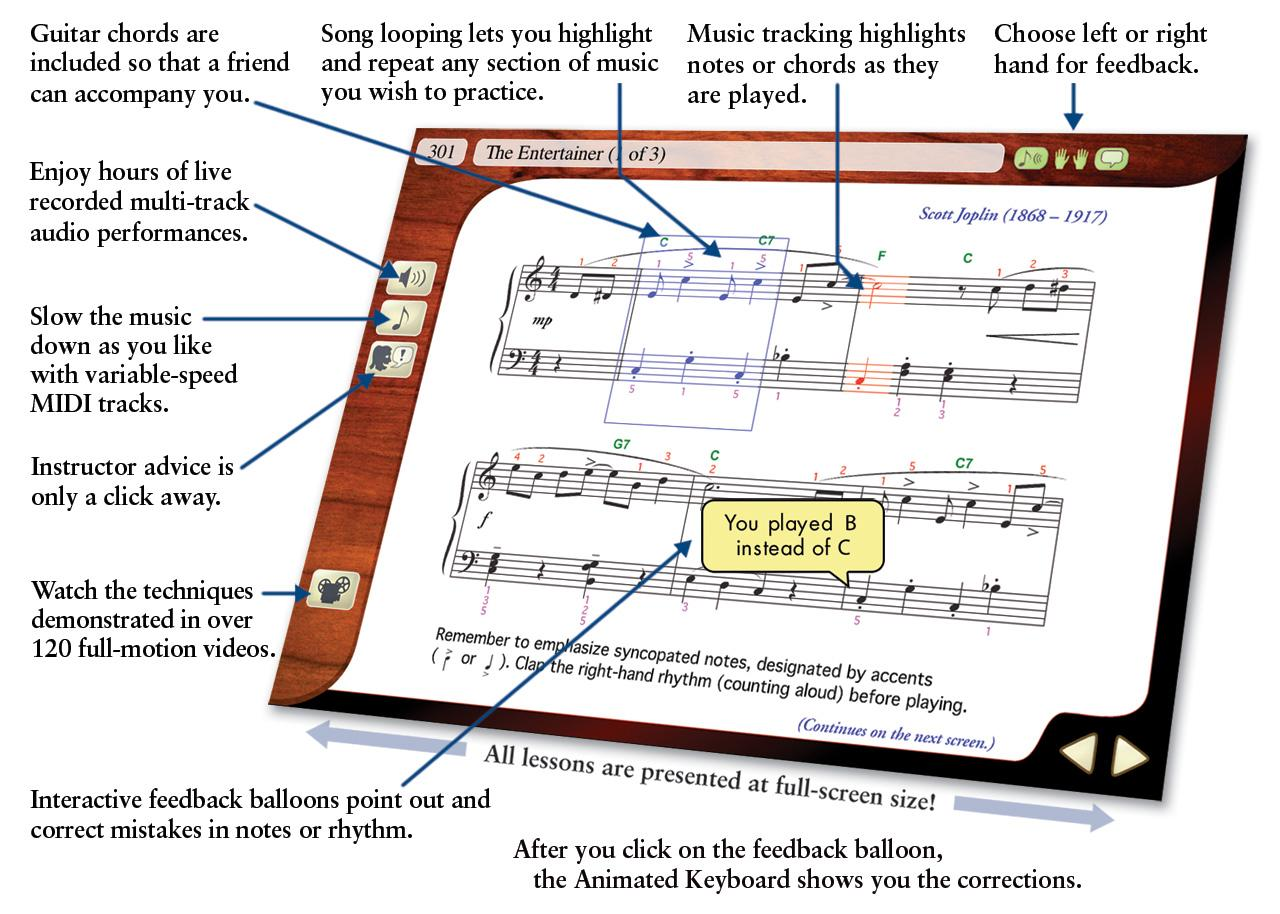 Amazon emedia play piano pack deluxe with 450 interactive view larger hexwebz Gallery